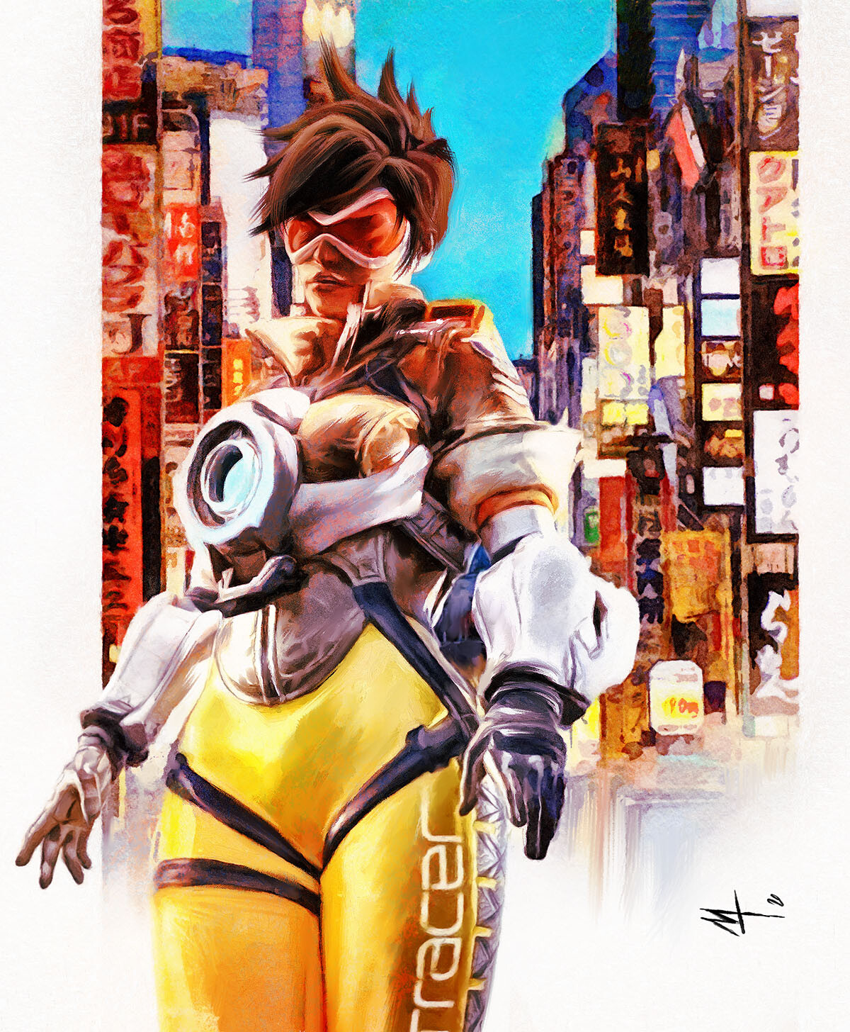Tracer Tribute from Overwatch