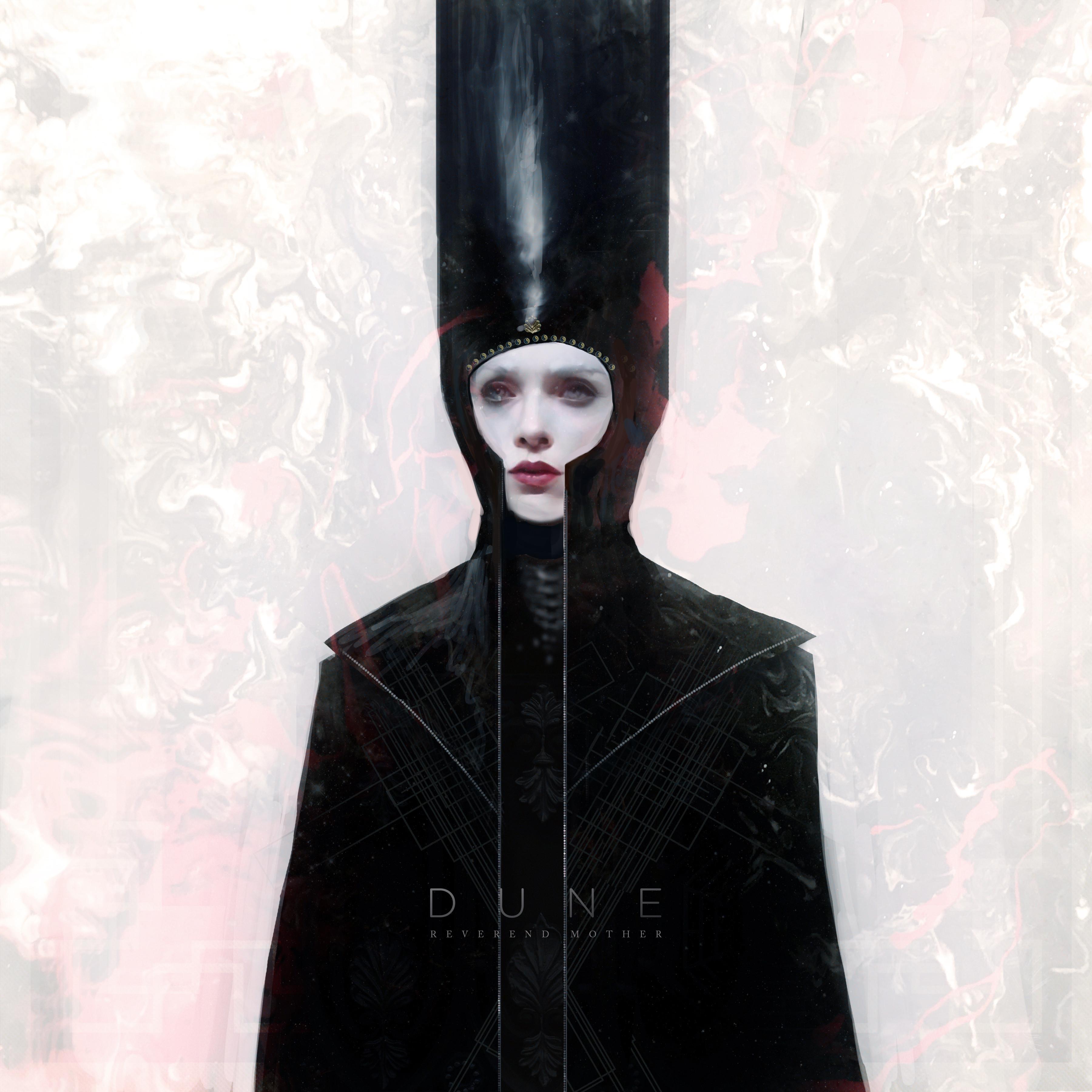 Premade Album Cover - Code: Reverend Mother