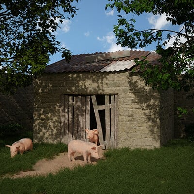 Barry mccarthy three little pigs