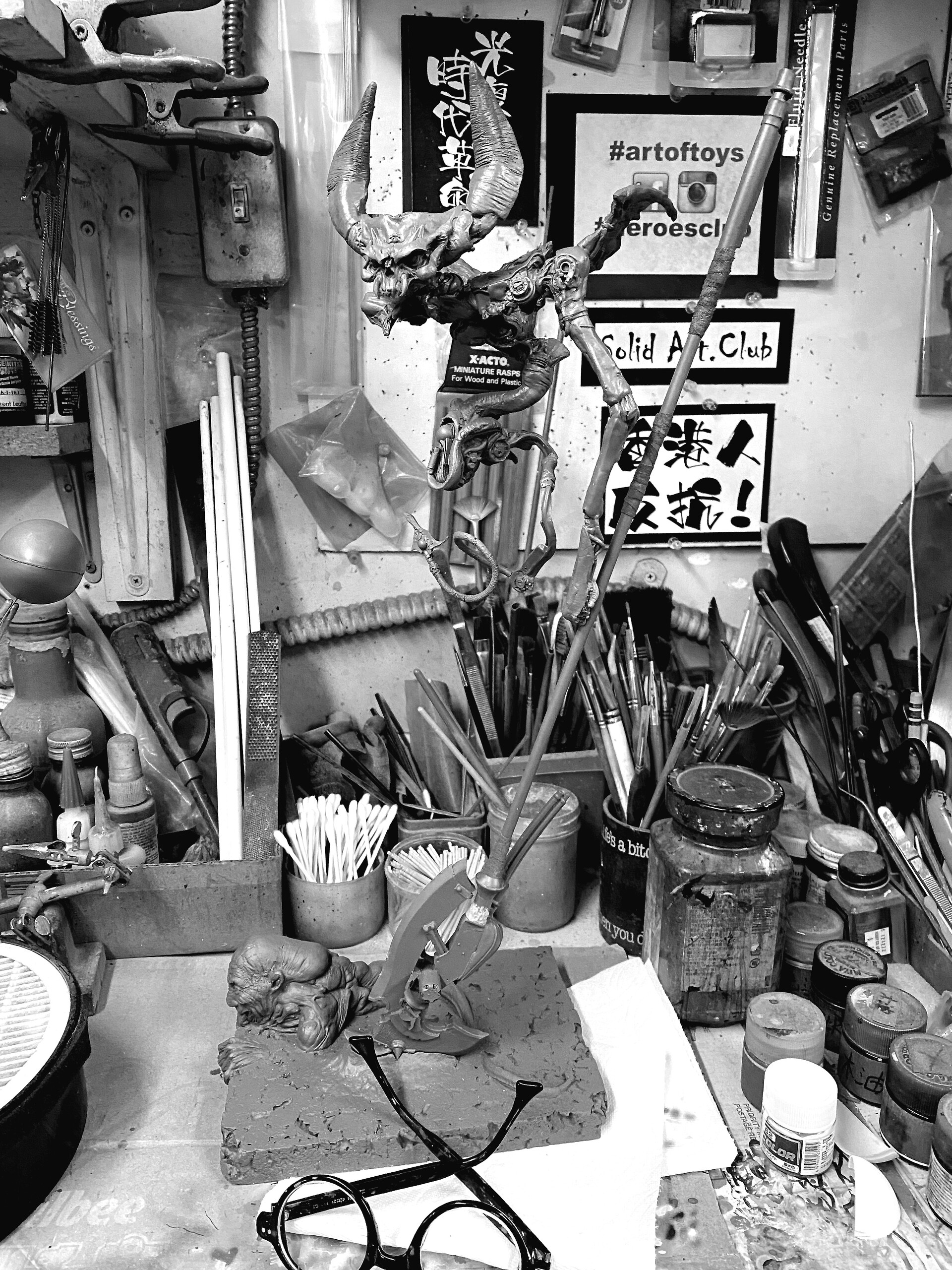 竹谷隆之  Takeya Takayuki's Vampu: Tomb Robber  制作中 https://www.solidart.club/
