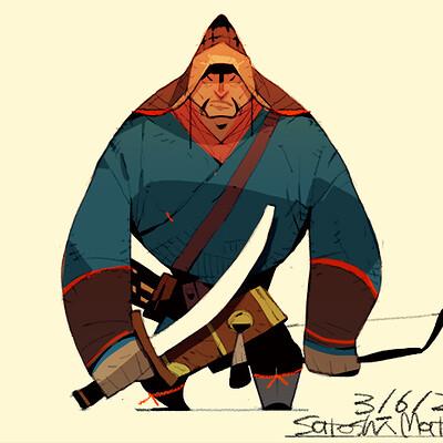 Satoshi matsuura 2020 02 13 mongol warrior s
