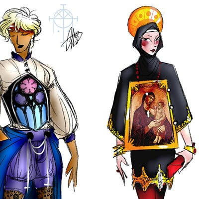 Android priest cathfashion