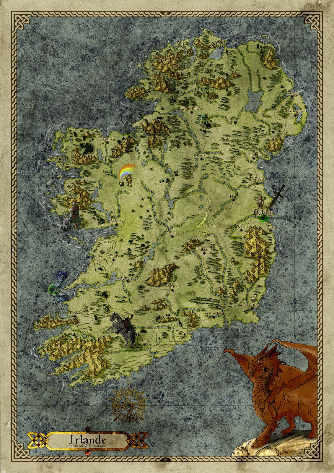 Irlande médiévale & Fantastique