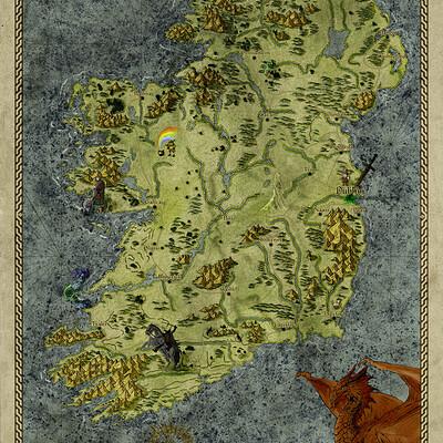 Ronan salieri irlande medievale fantastique sd