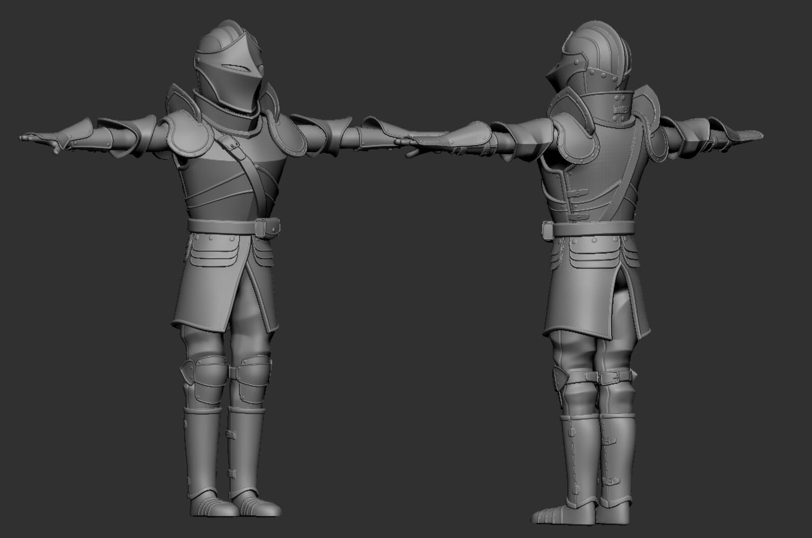 Armor in Zbrush