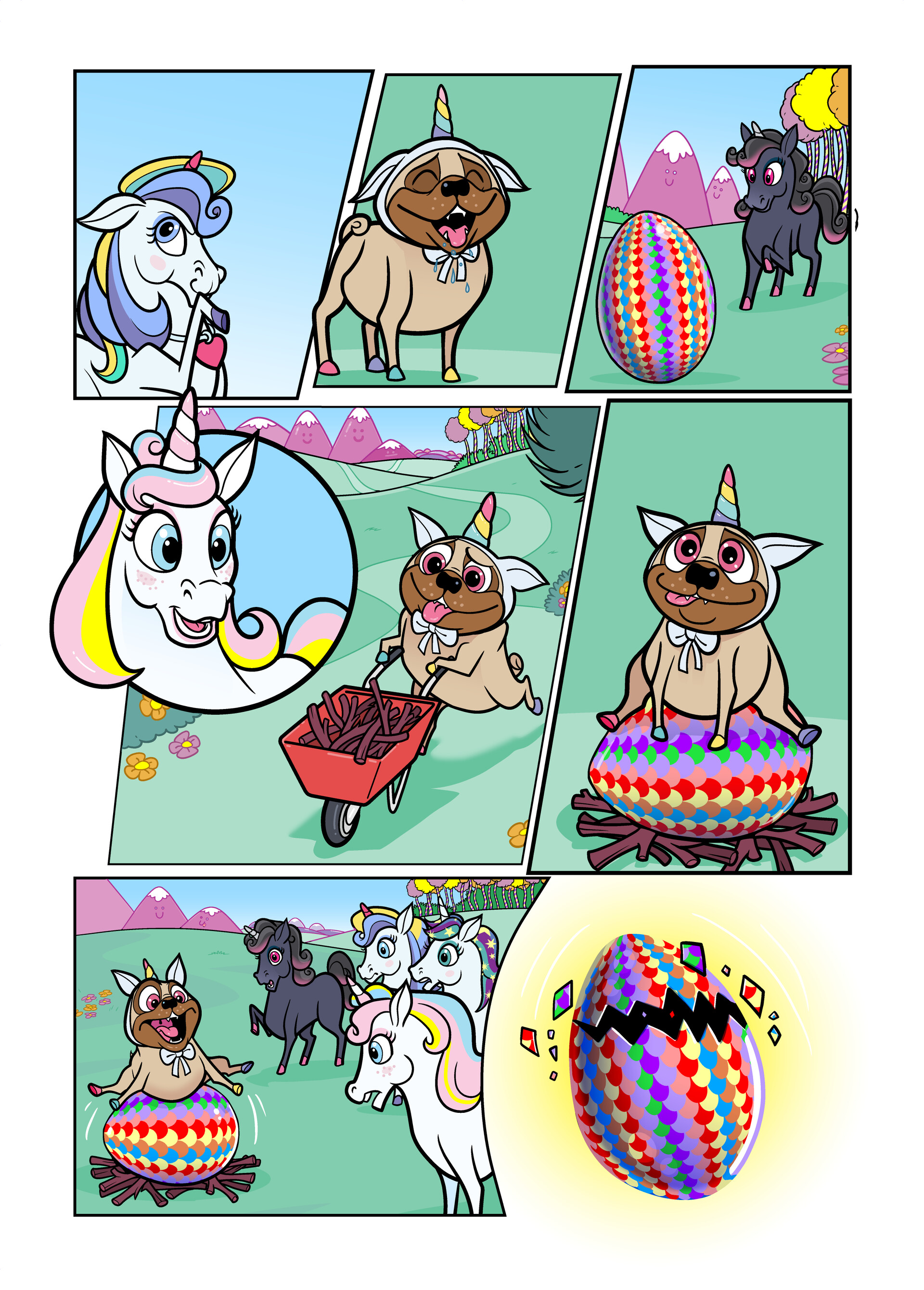 Unicorn Universe - The Mysterious Egg Page 2