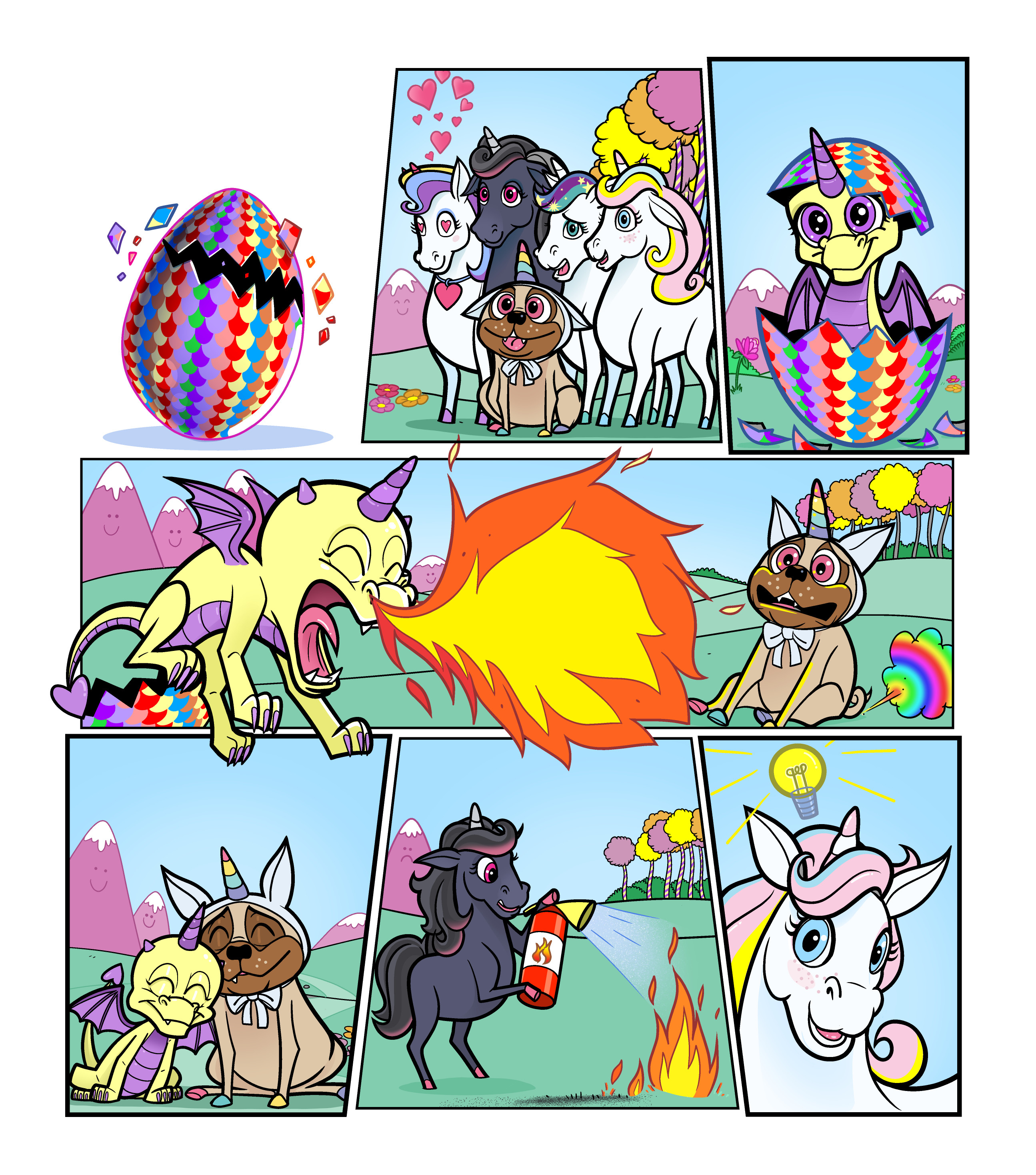 Unicorn Universe - The Mysterious Egg Page 3