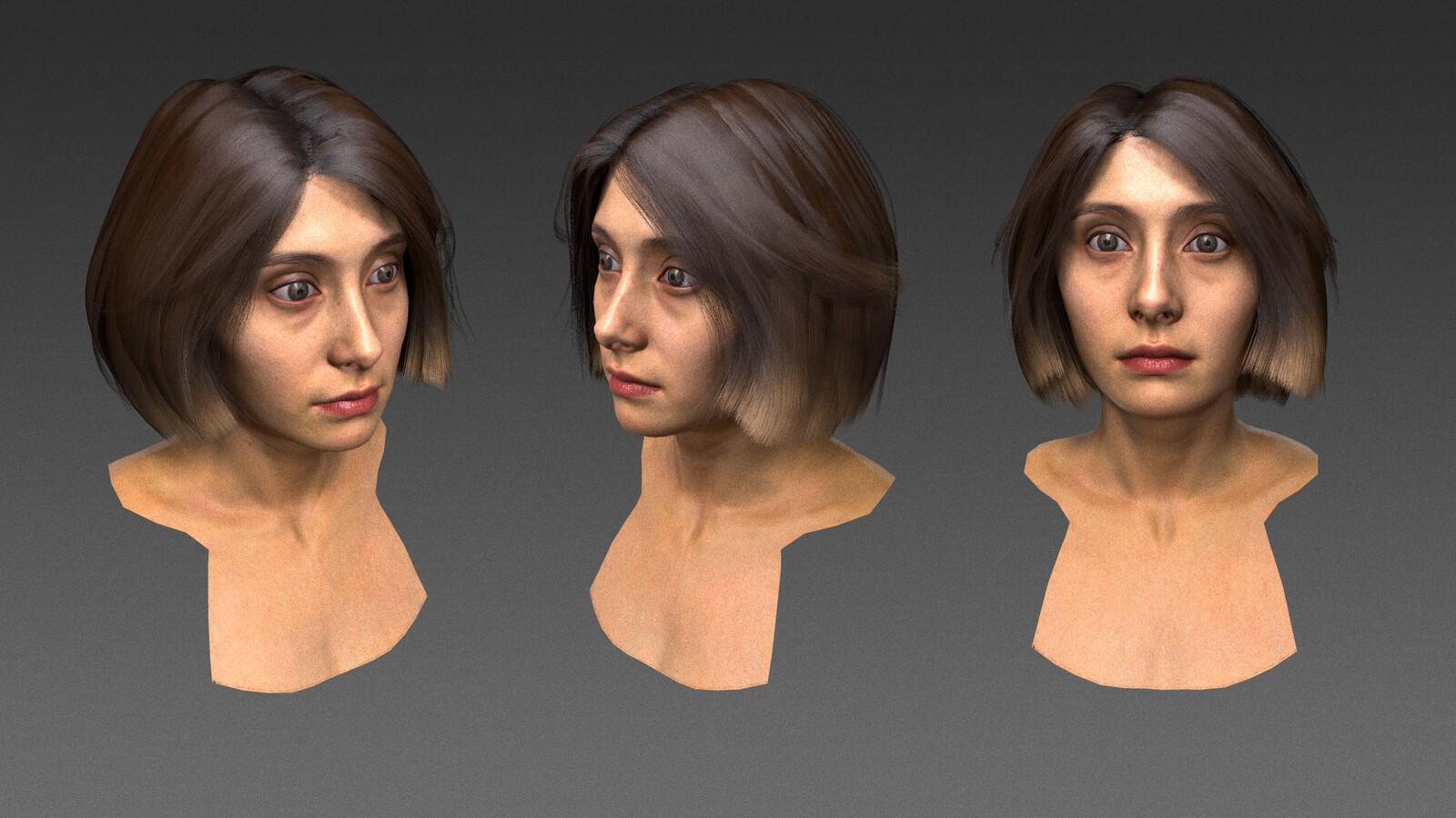 Michelle hair detail
