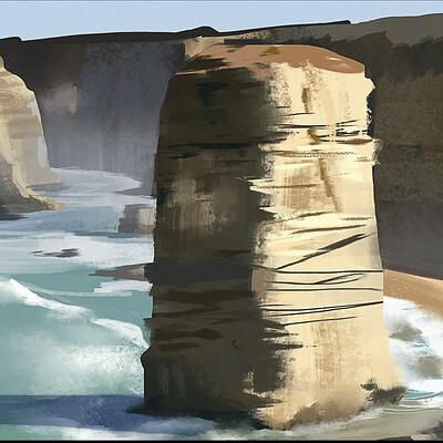 Taha yeasin day 149 landscape study3