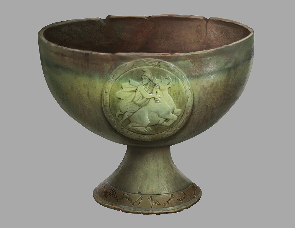 Ceramic Goblet