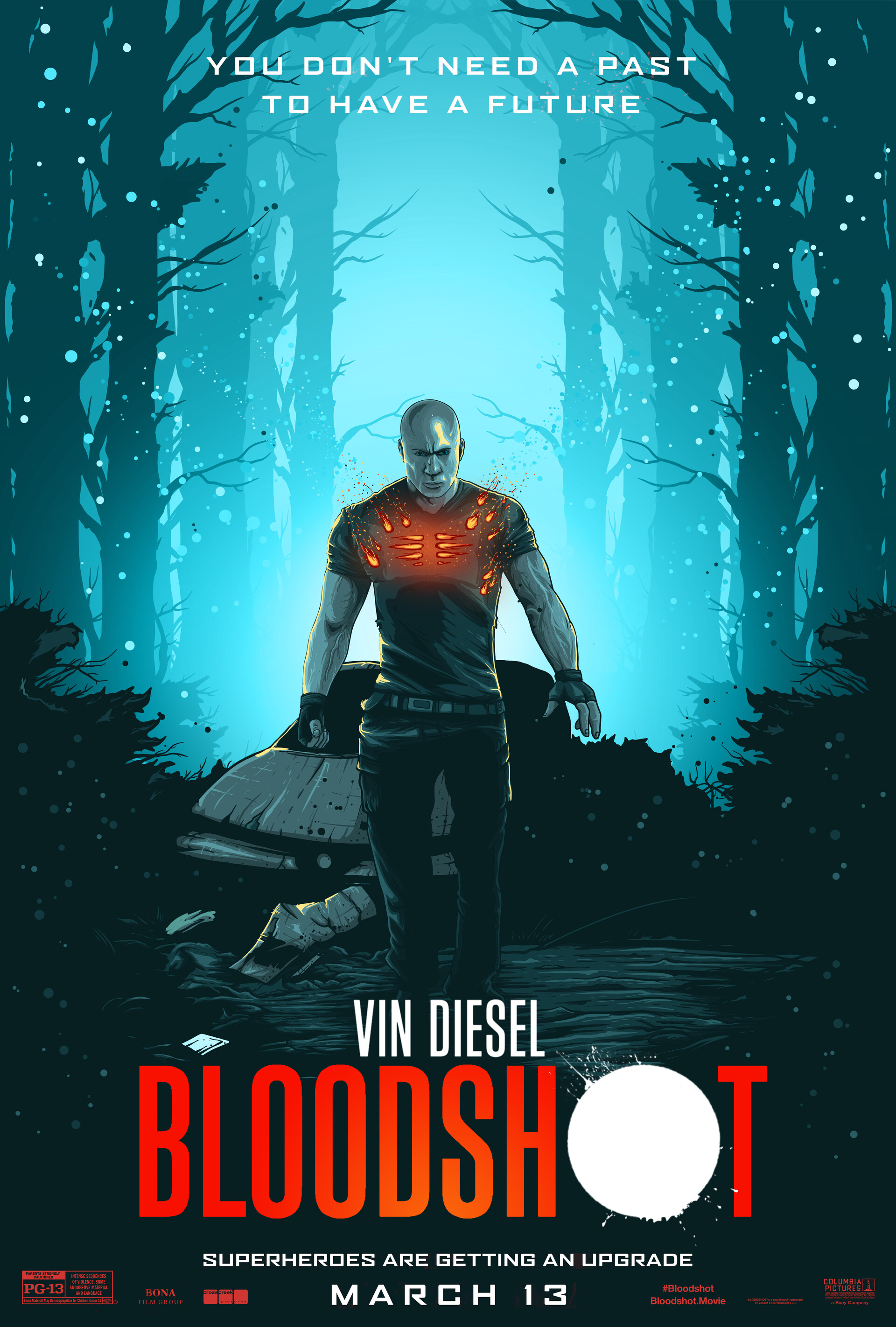 Bloodshot - Blue
