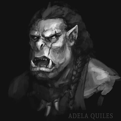 Adela quiles orc portrait