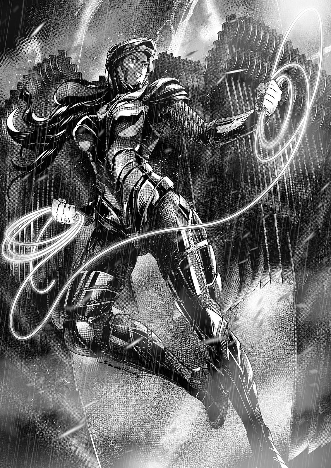 Wonder Woman Golden Eagle Armor