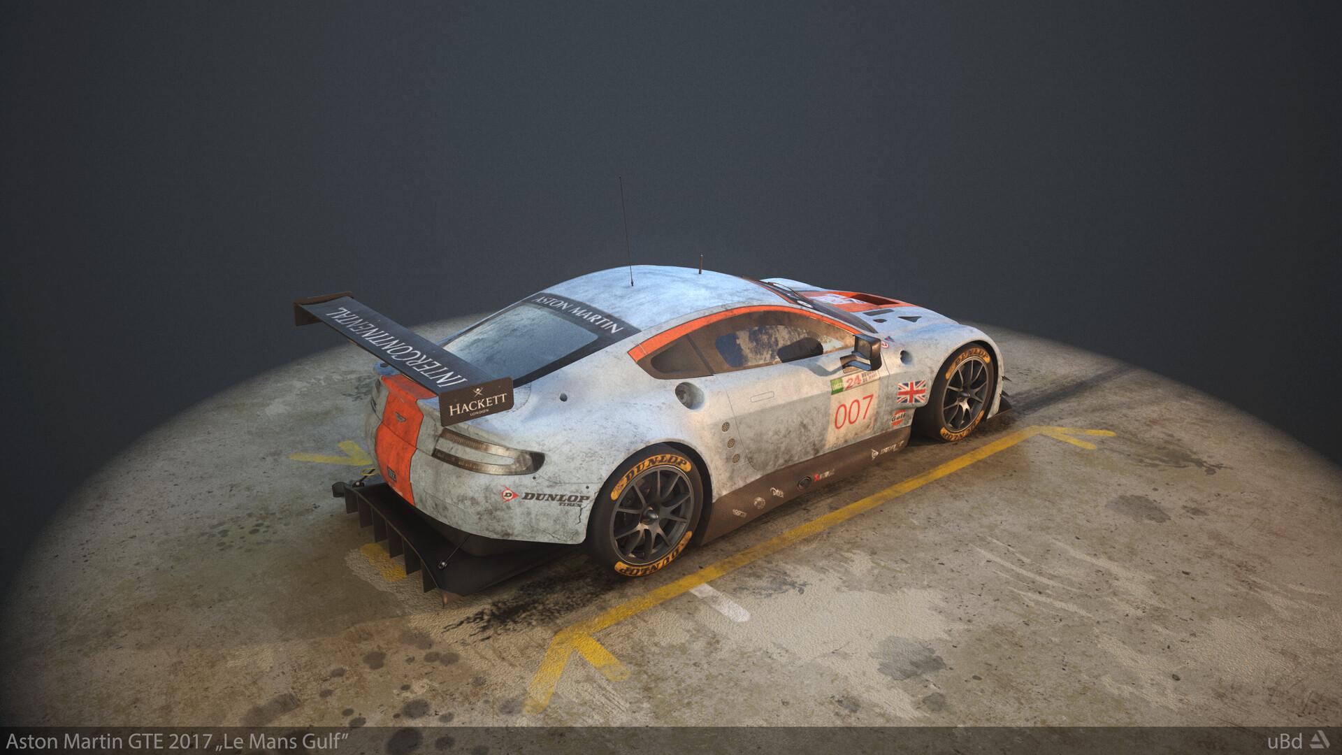 Tamas Feitscher Ubd Aston Martin Gte 2017 Le Mans Gulf