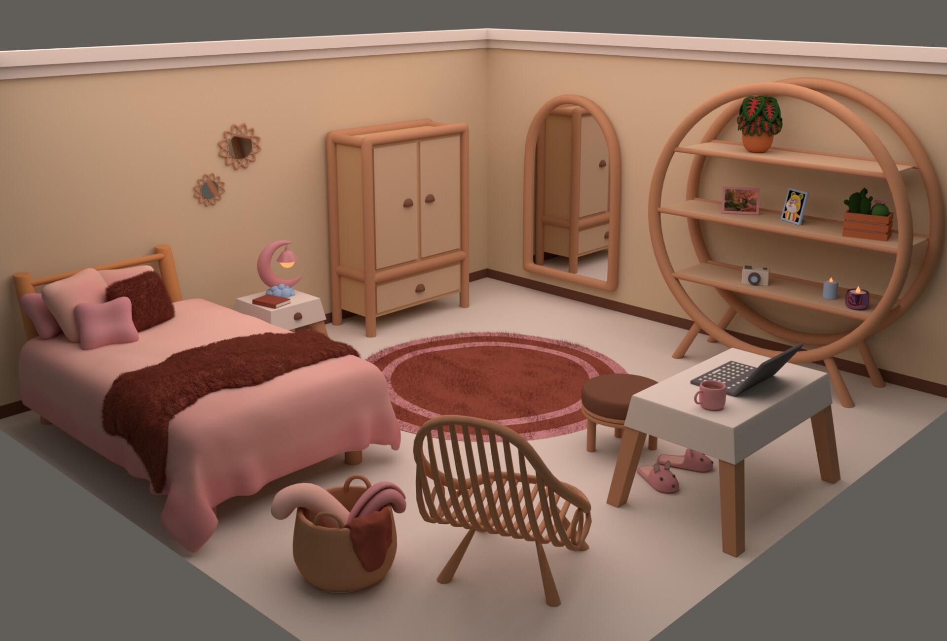 Amanda Leidens Cute Bedroom