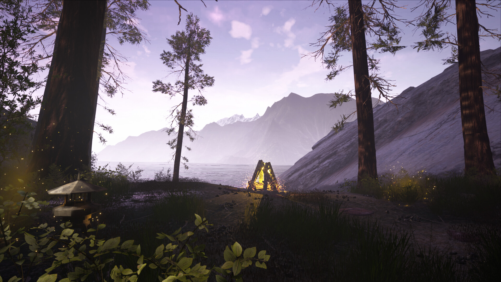 Environmental Art, Meditation Map, Unreal Engine 4
