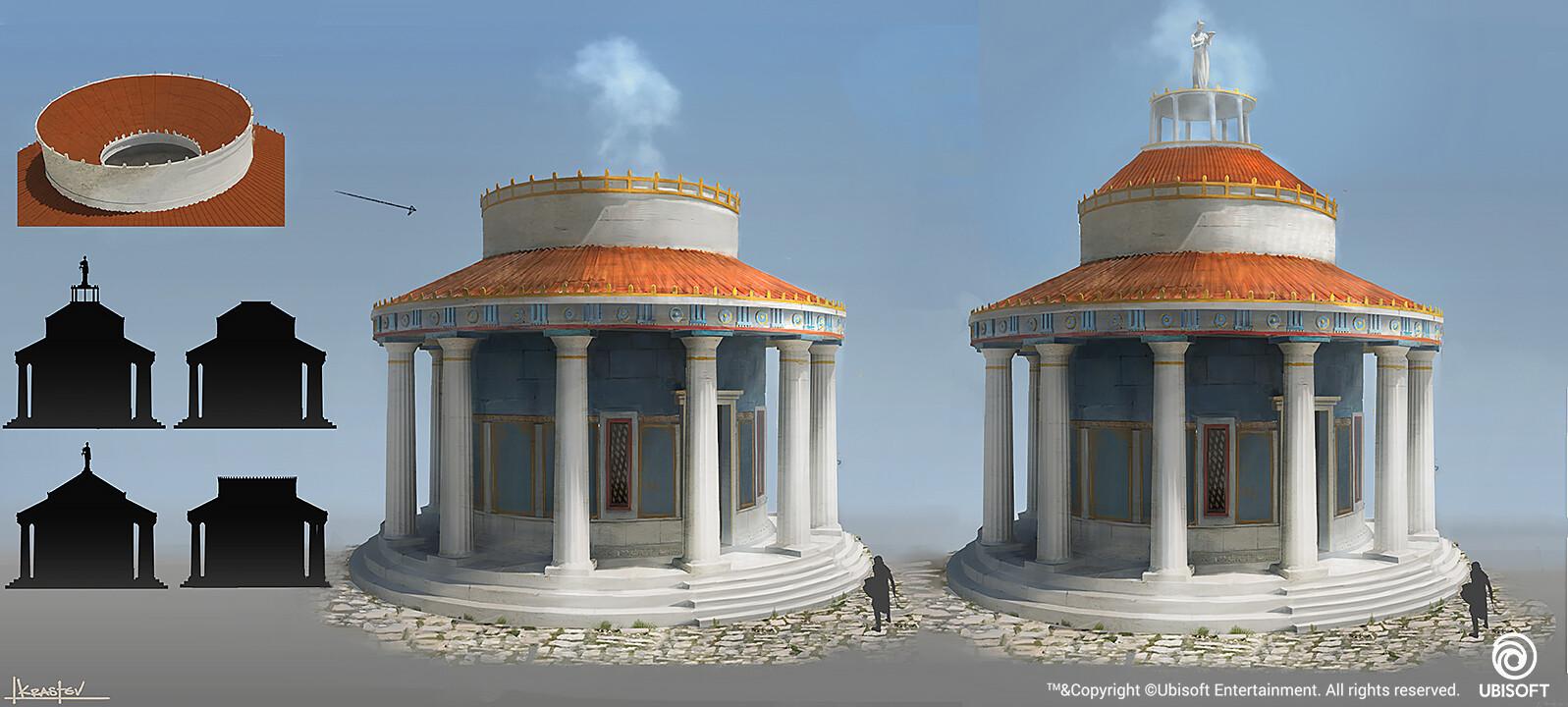 Temple exterior concept