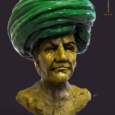 Surajit sen roghu v1 digital sculpture surajitsen march2020ss copy copy