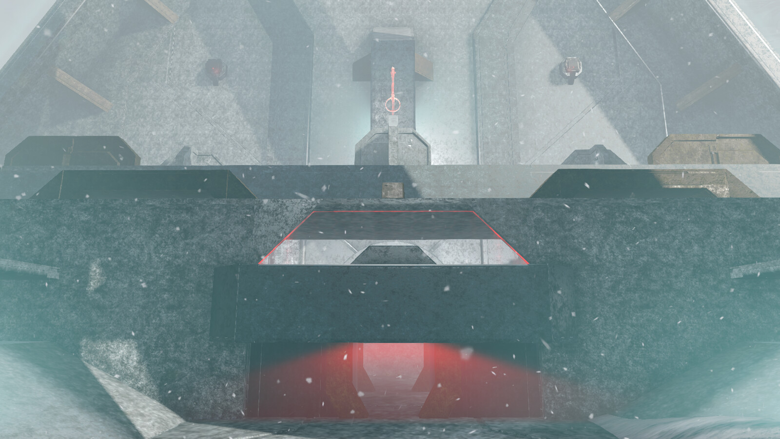 Red base outside
