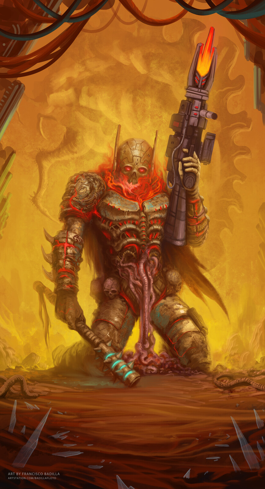"""Agony Armor"""