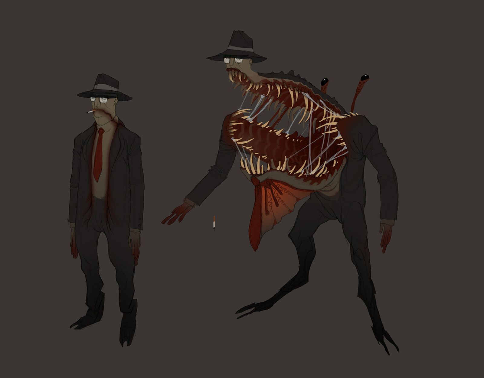 "An urban mimic, I'm pretty sure it was inspired by the old Ghostbusters action figures with ""Fright Features"""