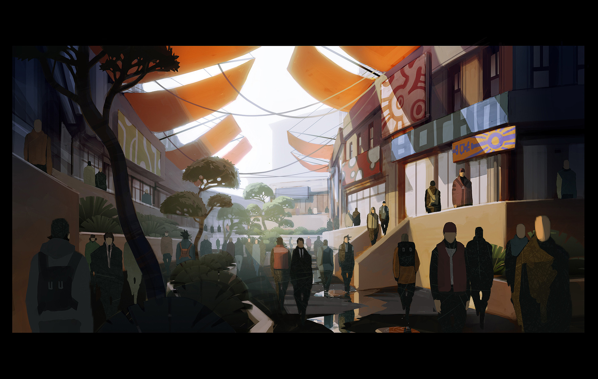 quick take on a market area