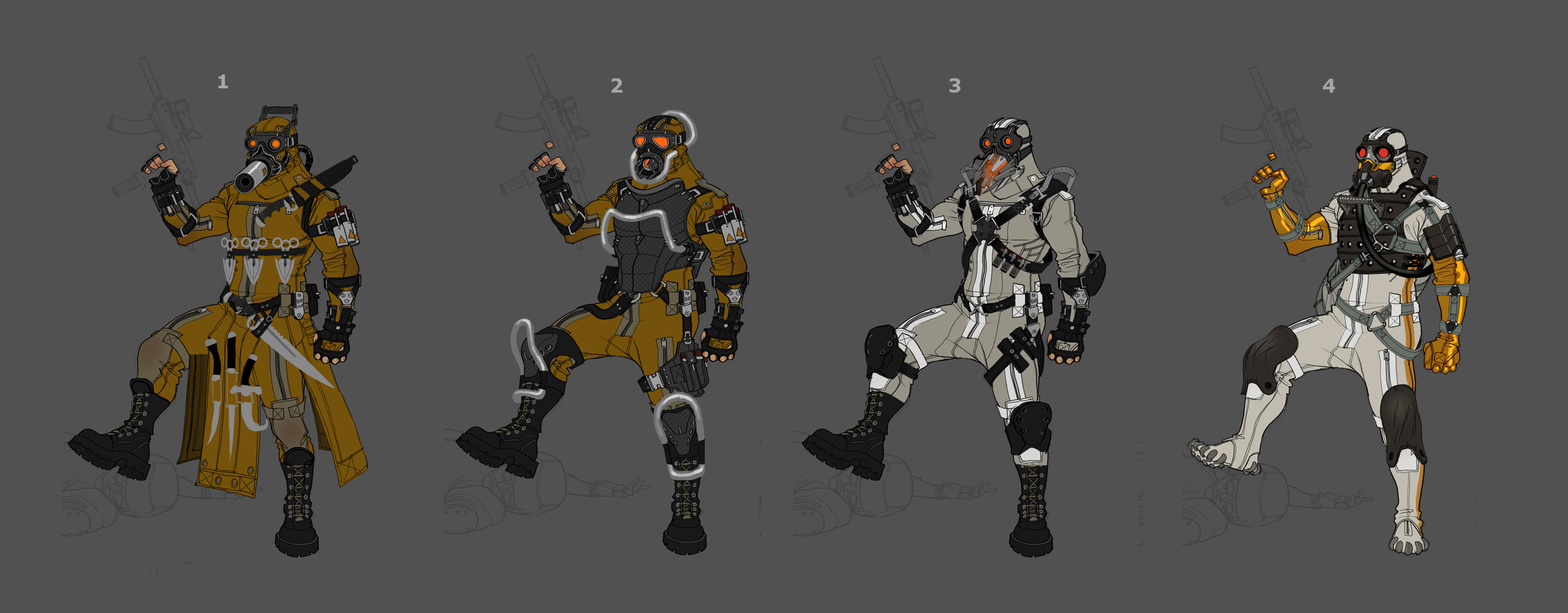 Variations on the ISA soldier