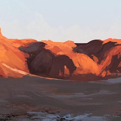 Taha yeasin day 153 landscape study5