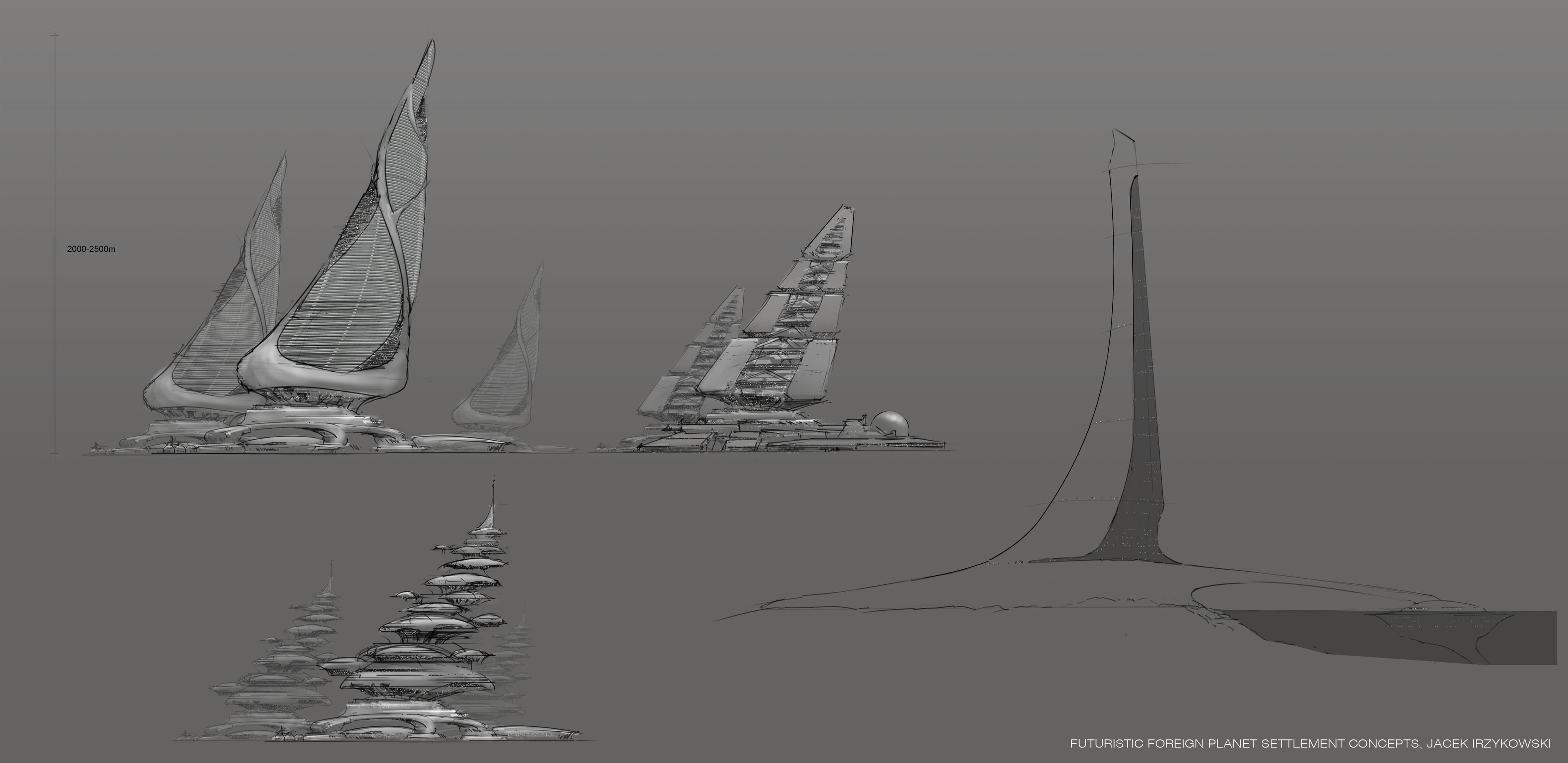 Form explorations