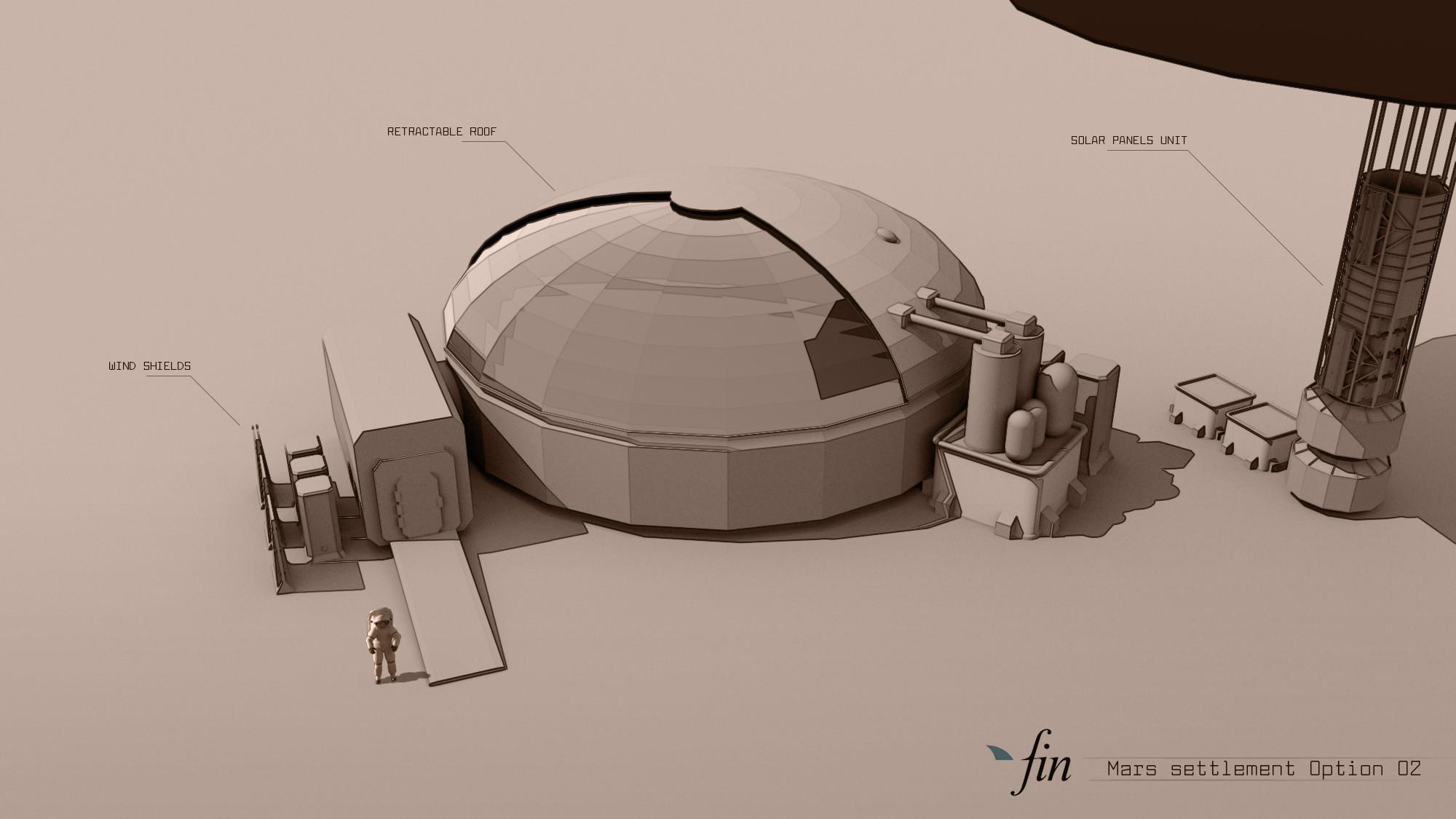 Mars settlement variation 02