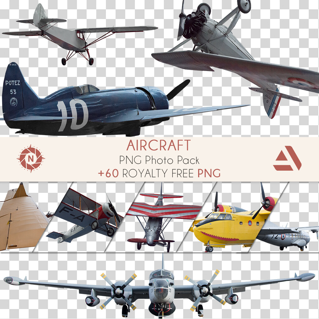 PNG Photo Pack: Aircraft  https://www.artstation.com/a/165881