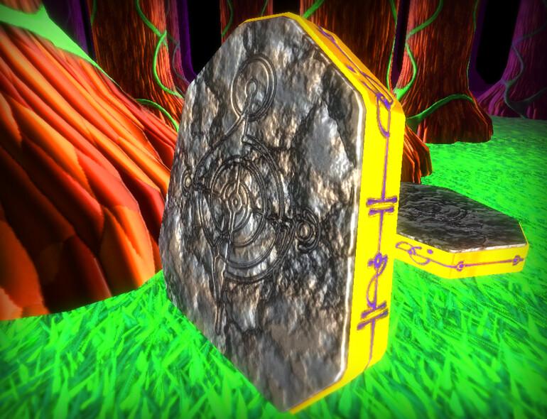In game rune stone