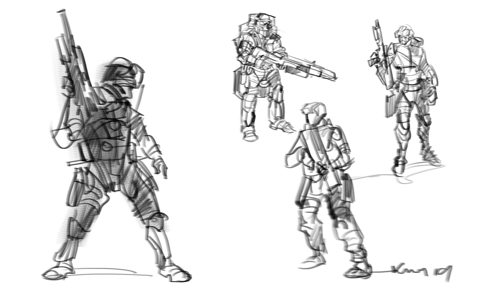 character  design rough