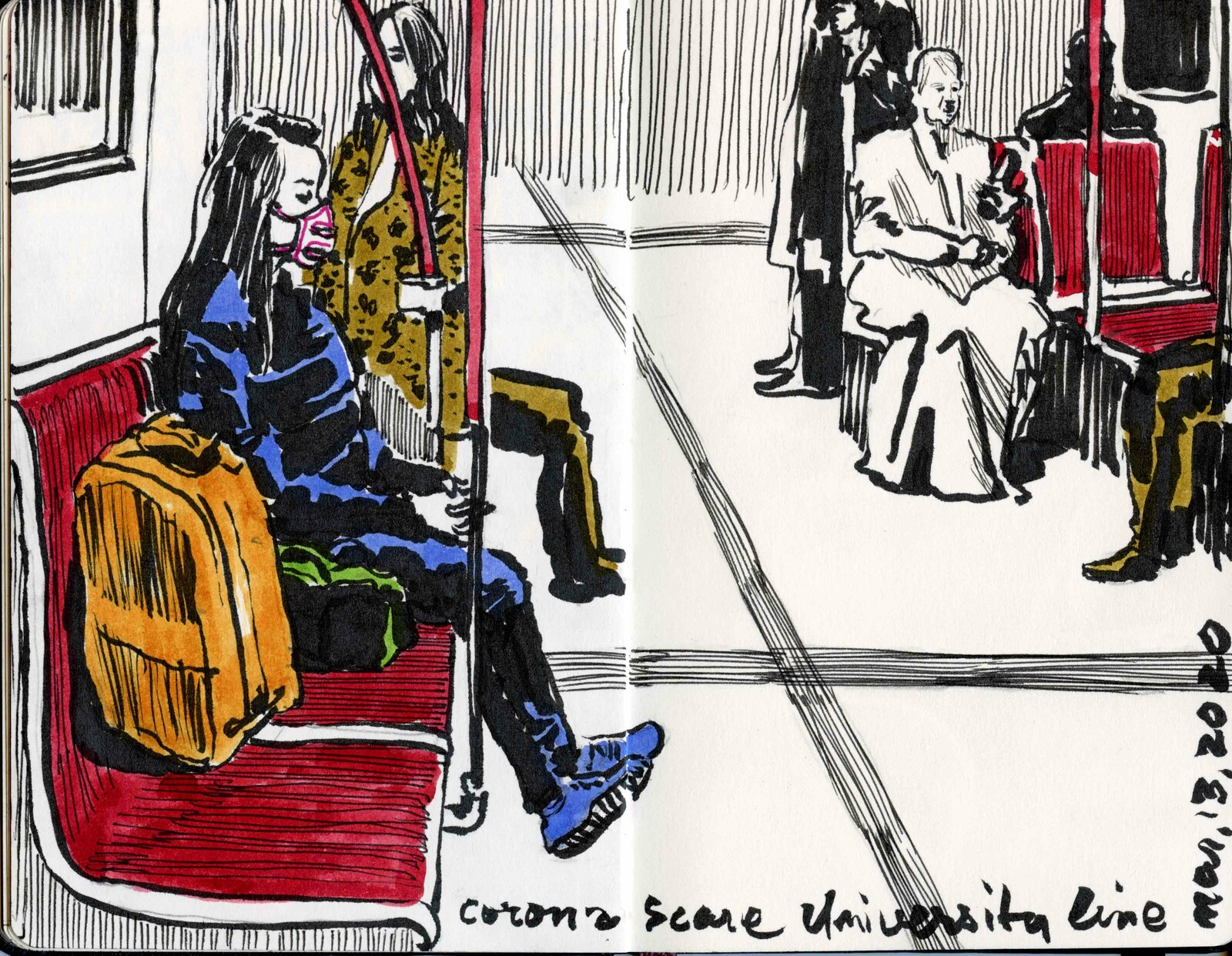 Sketching the Line, Toronto.