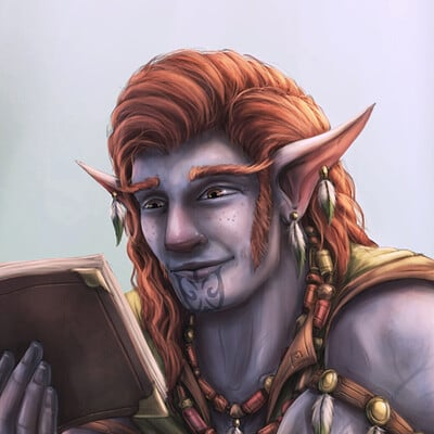 Christian hadfield dnd norlen webbedfoot the firbolg barbarian by christian hadfield duck criticalrole fanart dnd dungeons and dragons 2 closeup