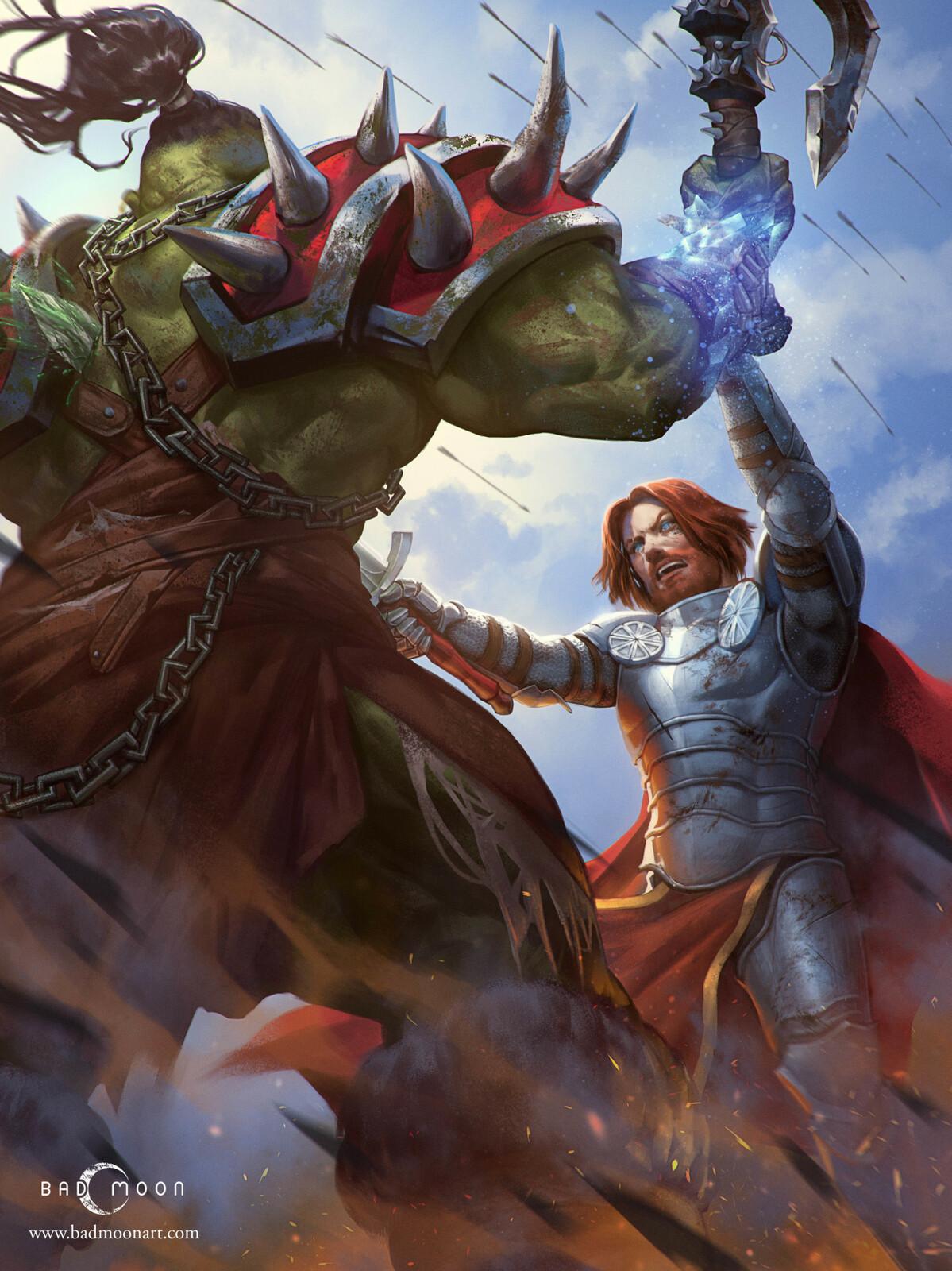 Warcraft Illustration