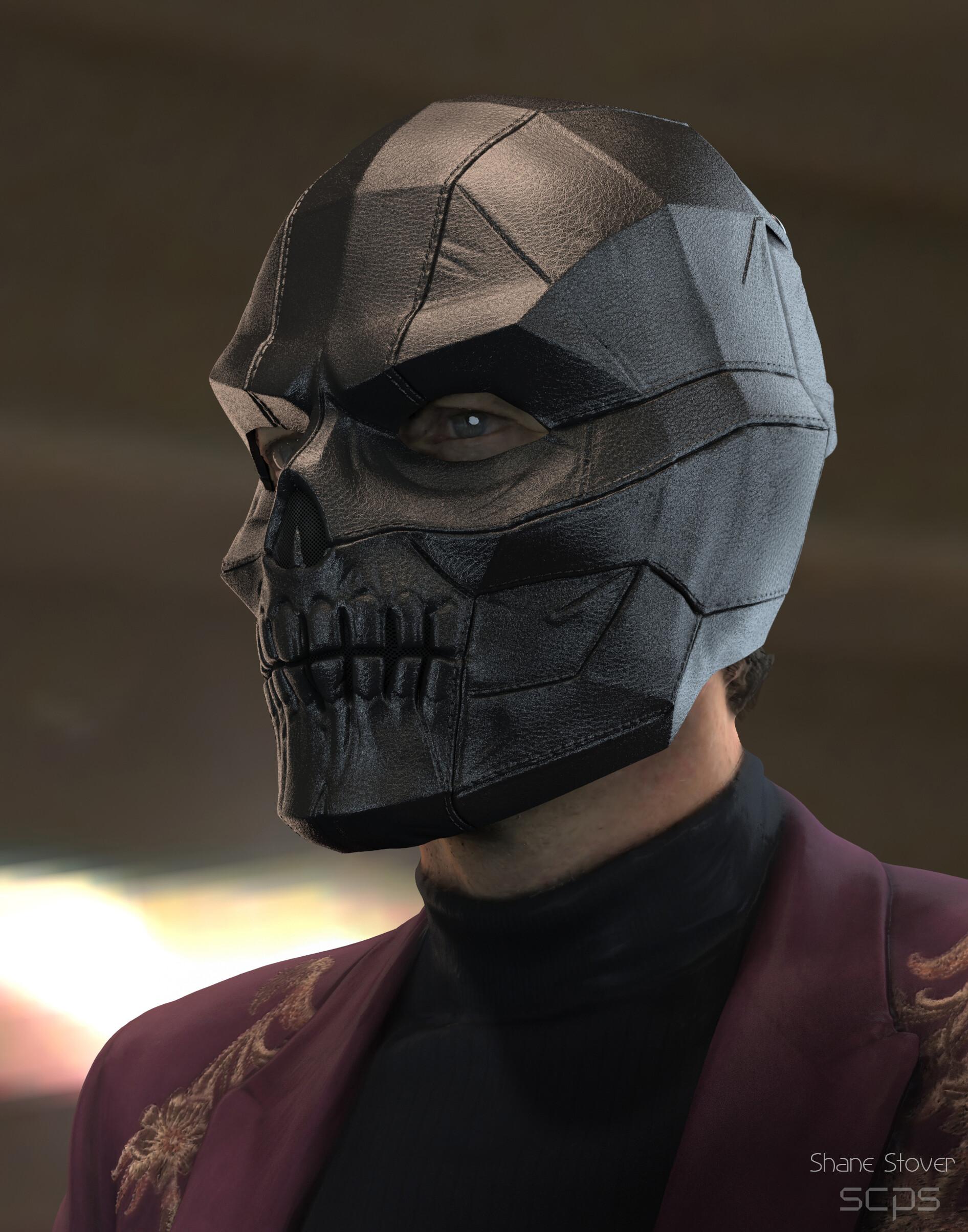 Artstation Black Mask Shane Stover