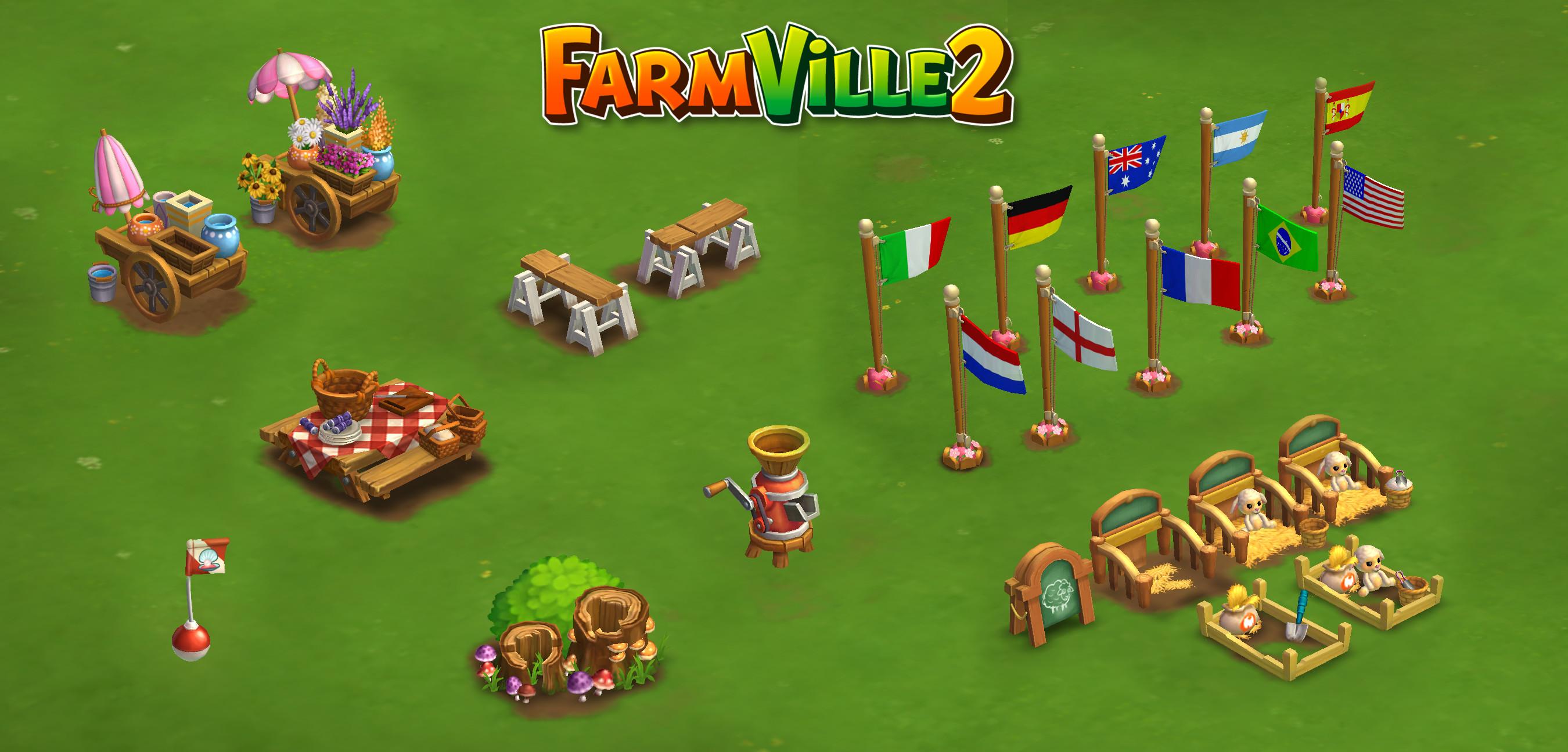 Farmville 2: Props