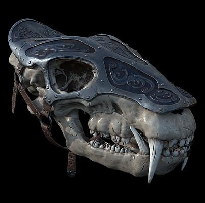 Wieslaw budzik wieslaw budzik skull 08