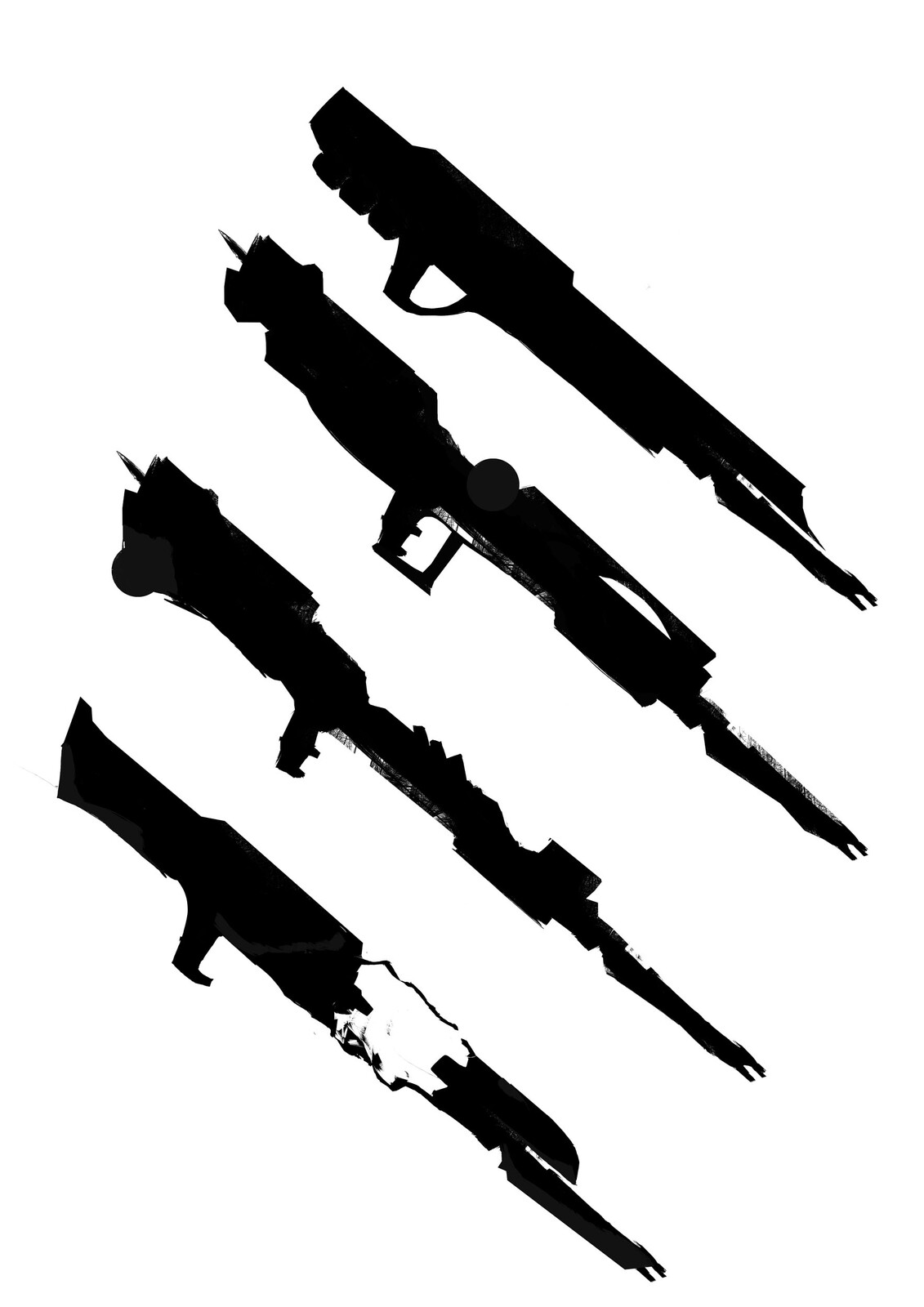 Weapon Concept Art