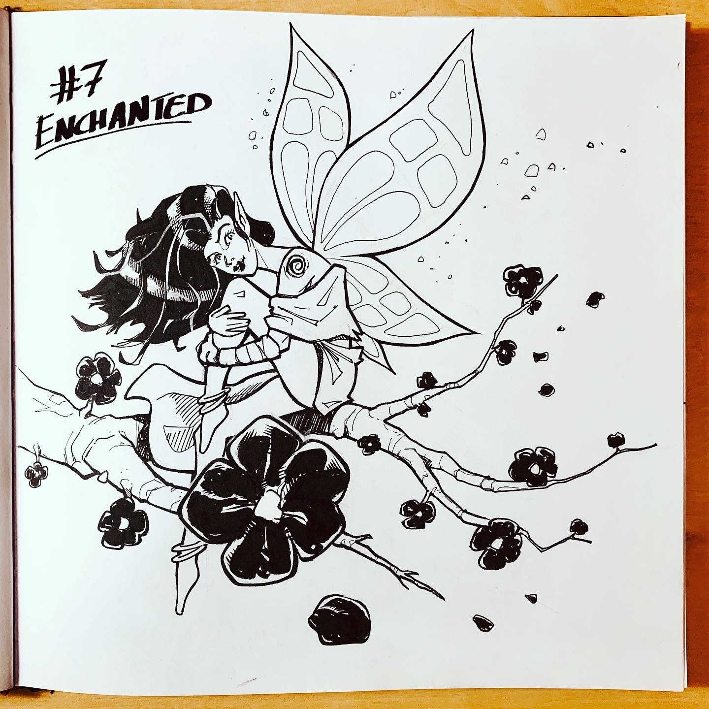Inktober 2019: #7. Enchanted