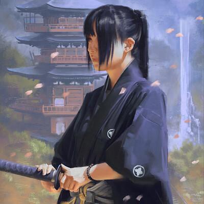 Ariel anabitarte sketch samurai01 small