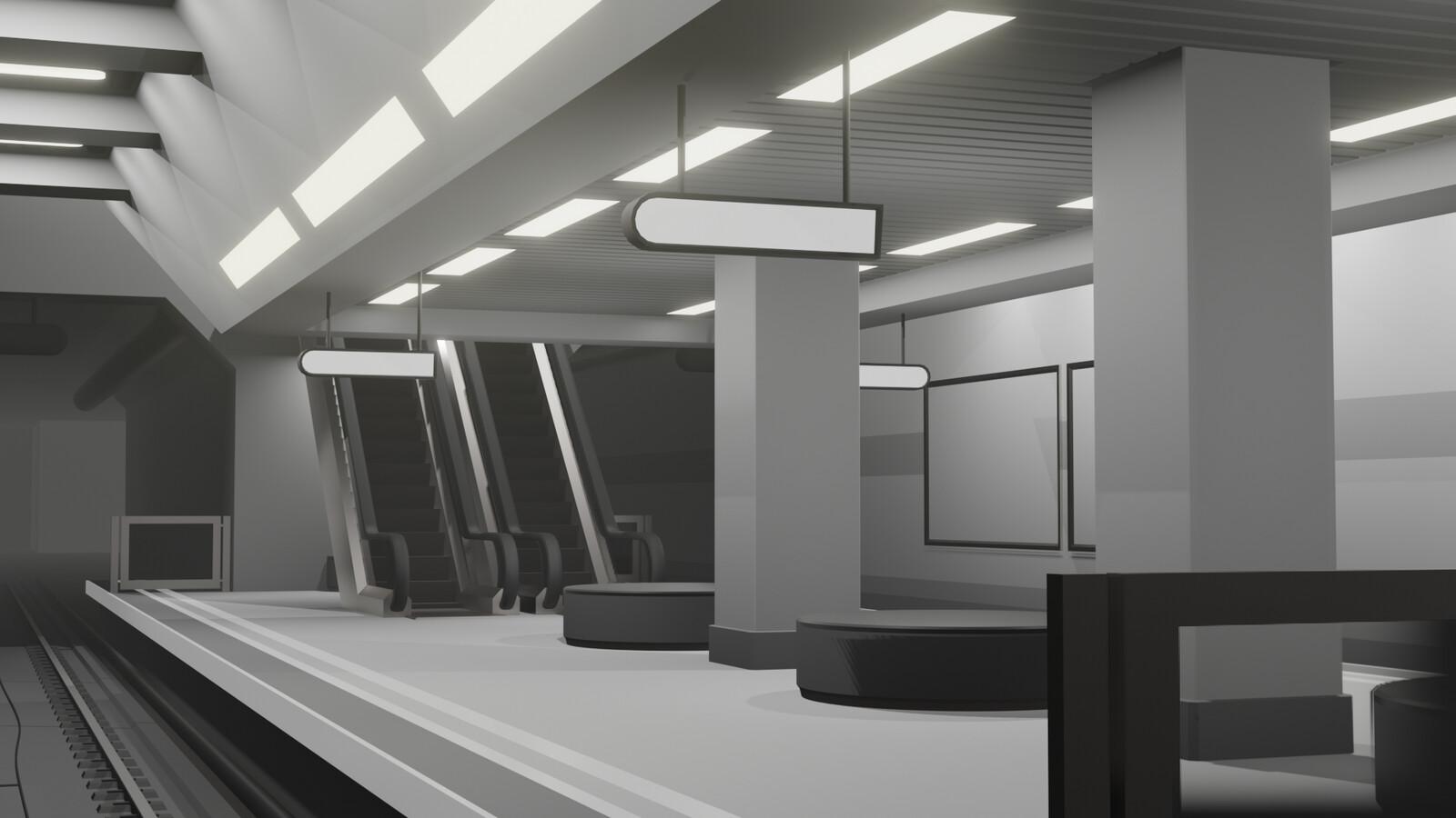 Subway Concept (WIP)