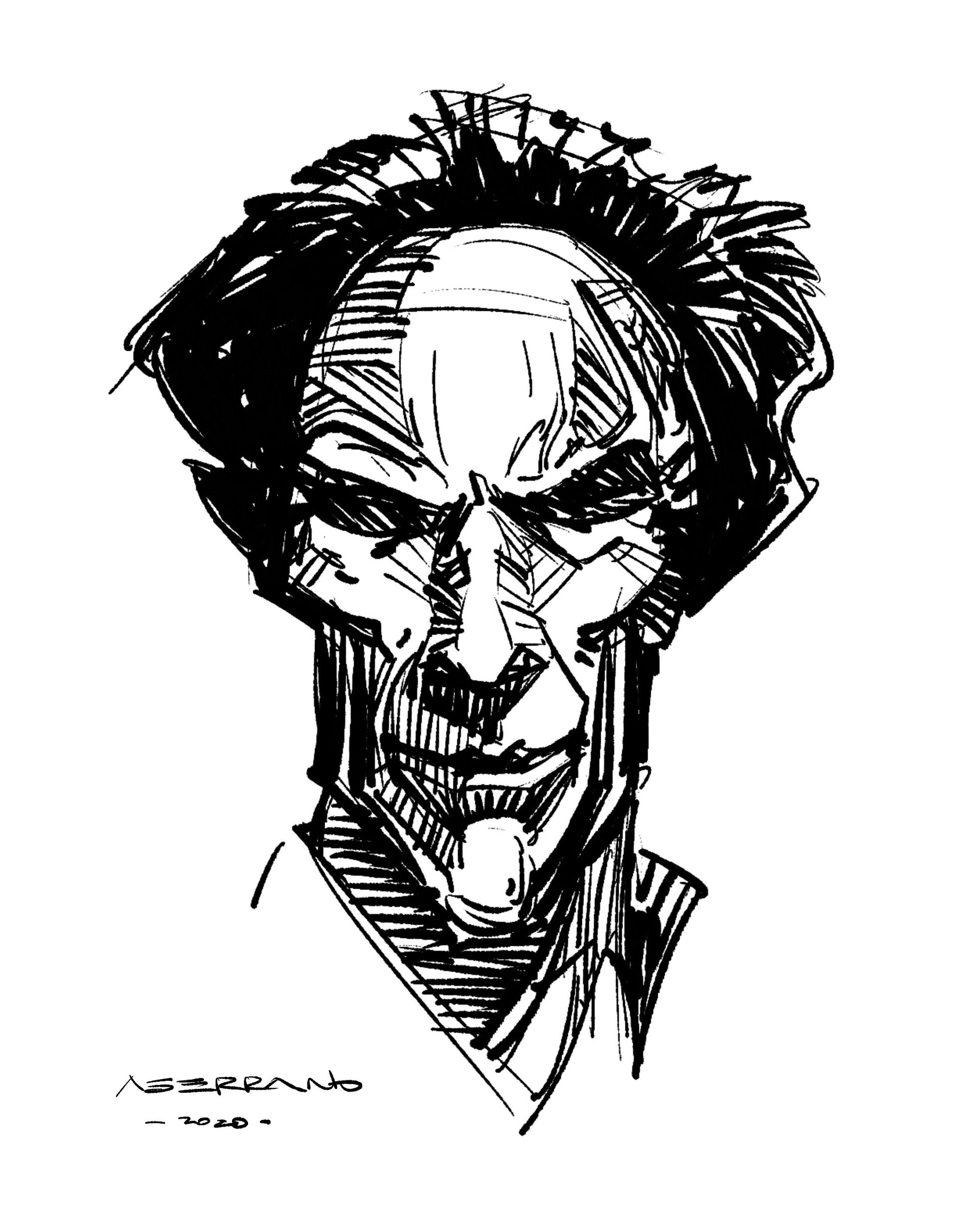iPad sketch.