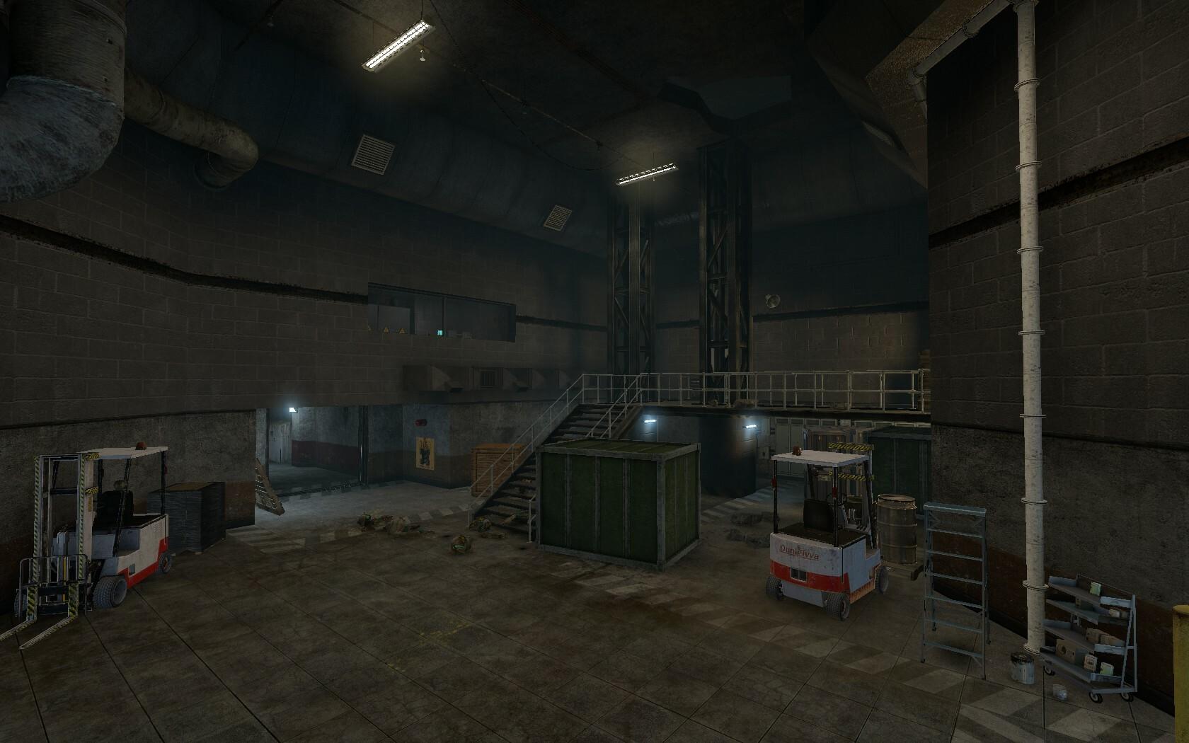 Indoor warehouse (July 2017)