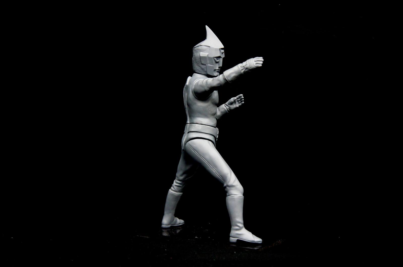 原型制作Robin Kwok: スペクトルマン 30 cm original sculpt 30 cm Spectreman https://www.solidart.club/