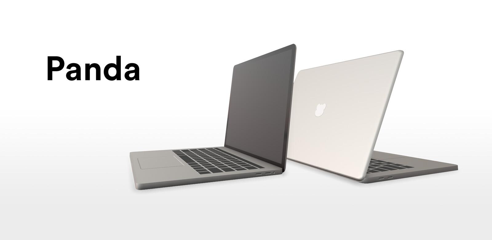 Low-Poly Laptop