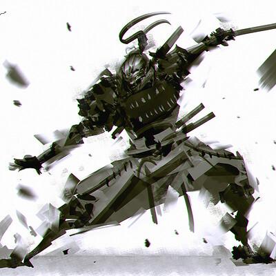 Benedick bana speedpaint samurai a ca lores