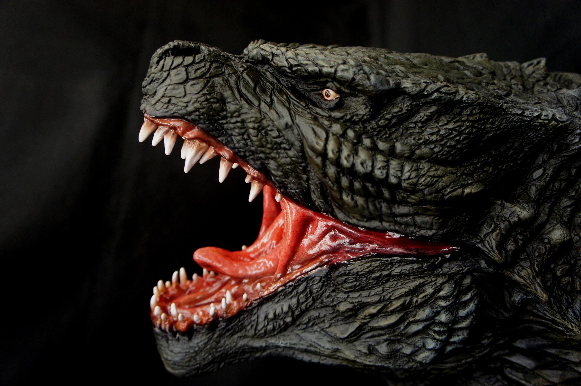 Godzilla 2014 Head Studio Scale Wall-Hanger  https://www.solidart.club/