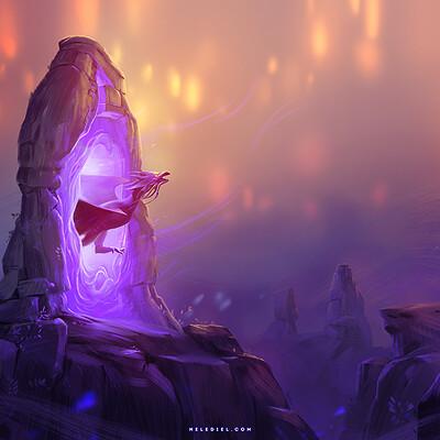 Nele diel dragon portal